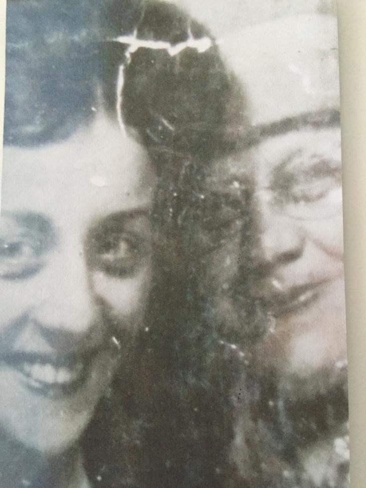 My Mum and Grandmother. Taken January 1962