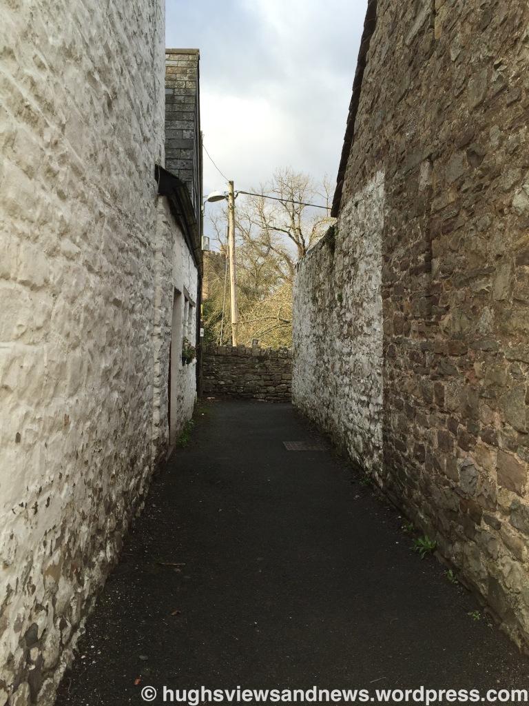 Alleyway - Crickhowell, Powys, Wales