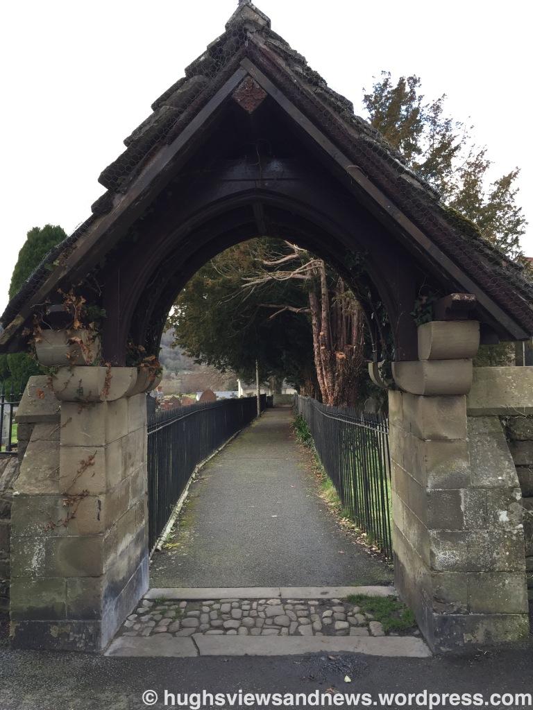 Churchyard - Crickhowell, Powys, Wales
