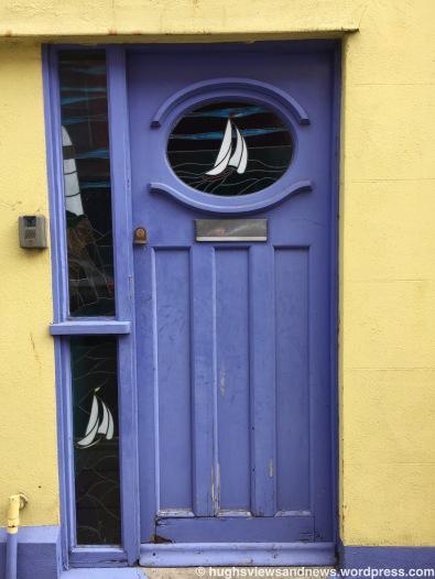 Mauve Door