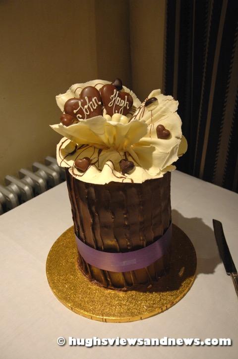 Hugh & John's Civil Partnership Cake