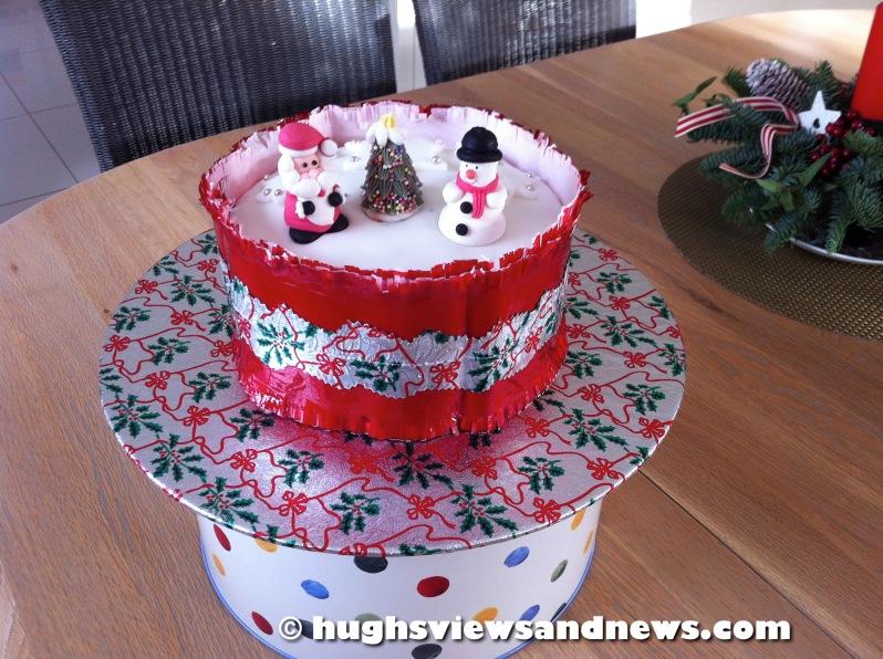 Hugh's Christmas Cake
