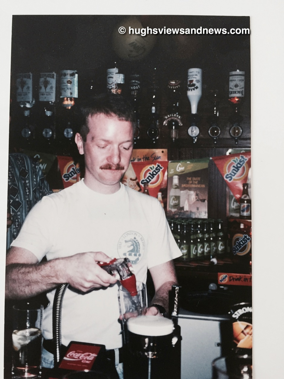 Barman Hugh - Just before I met Lara