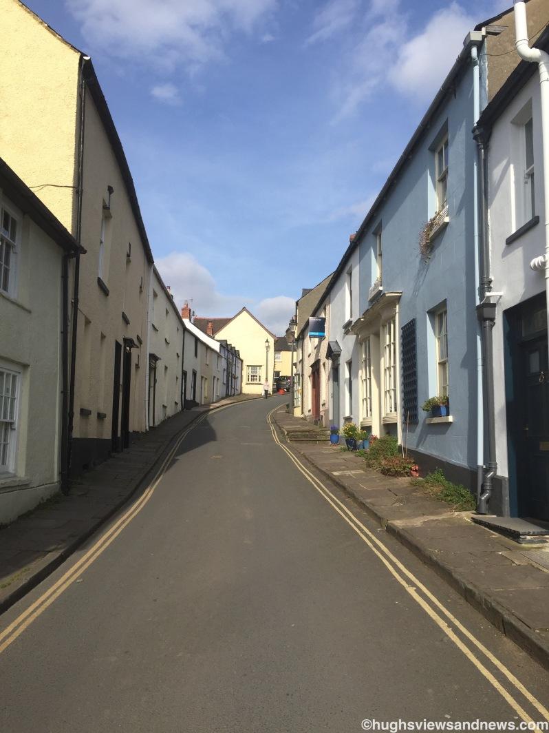 Street in Crickhowell