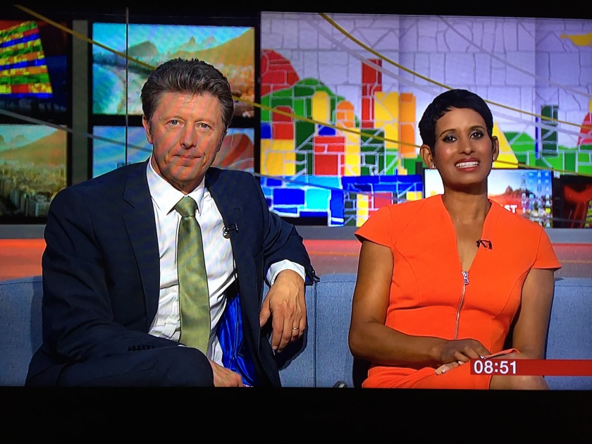 Charlie State and Naga Munchetty