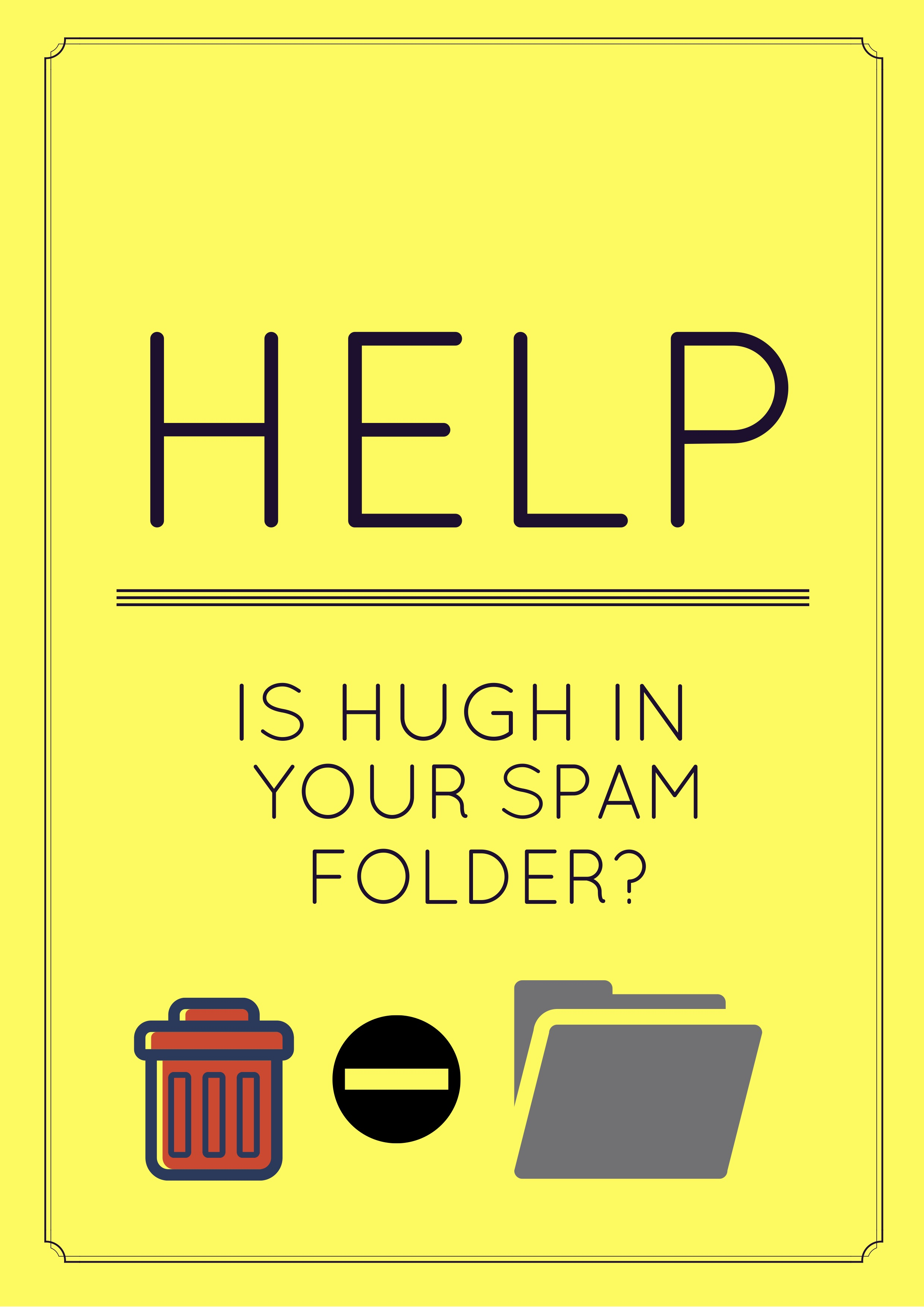 how to find spam folder