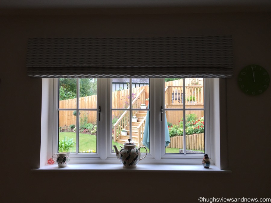 Wordless Wednesday - View from the ironing Board