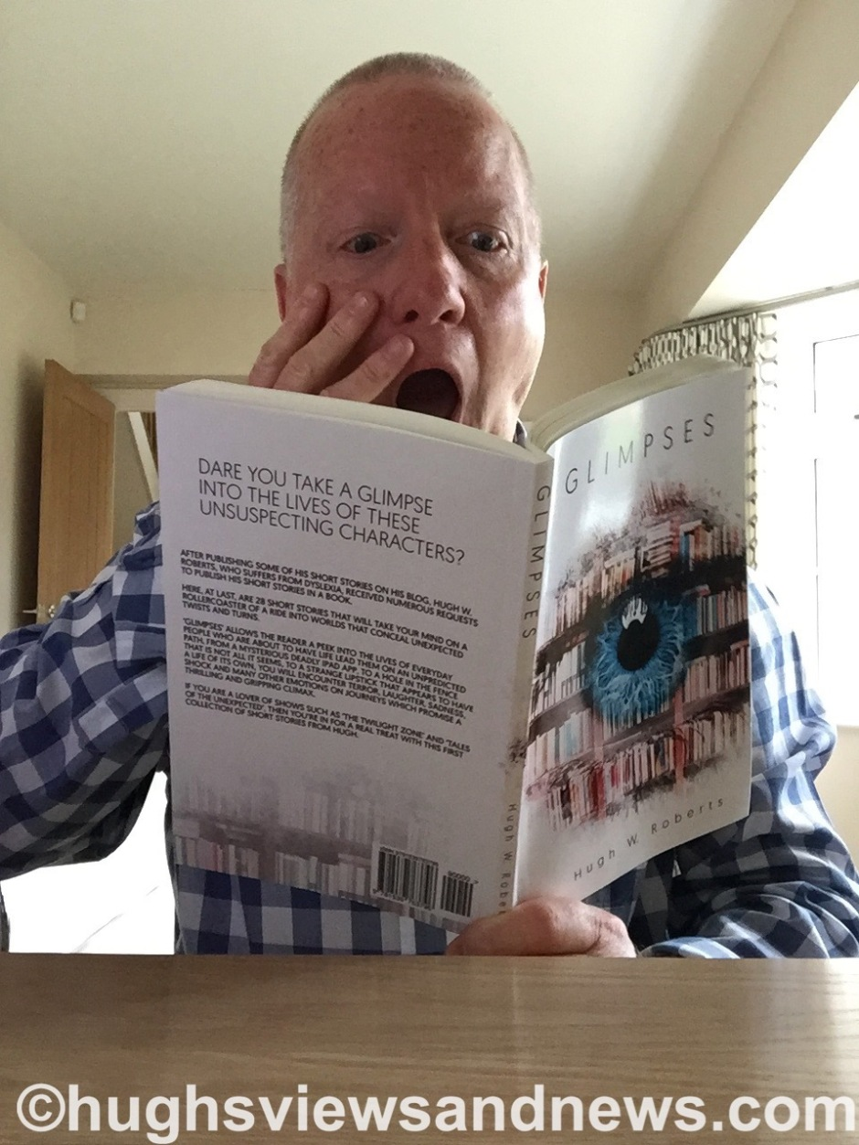 Hugh W. Roberts reading his new book Glimpses