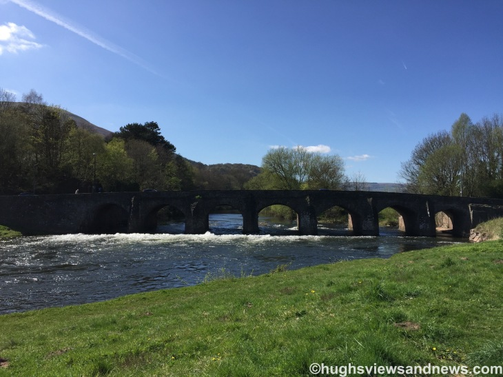 The Bridge Between Abergavenny and Llanfoist