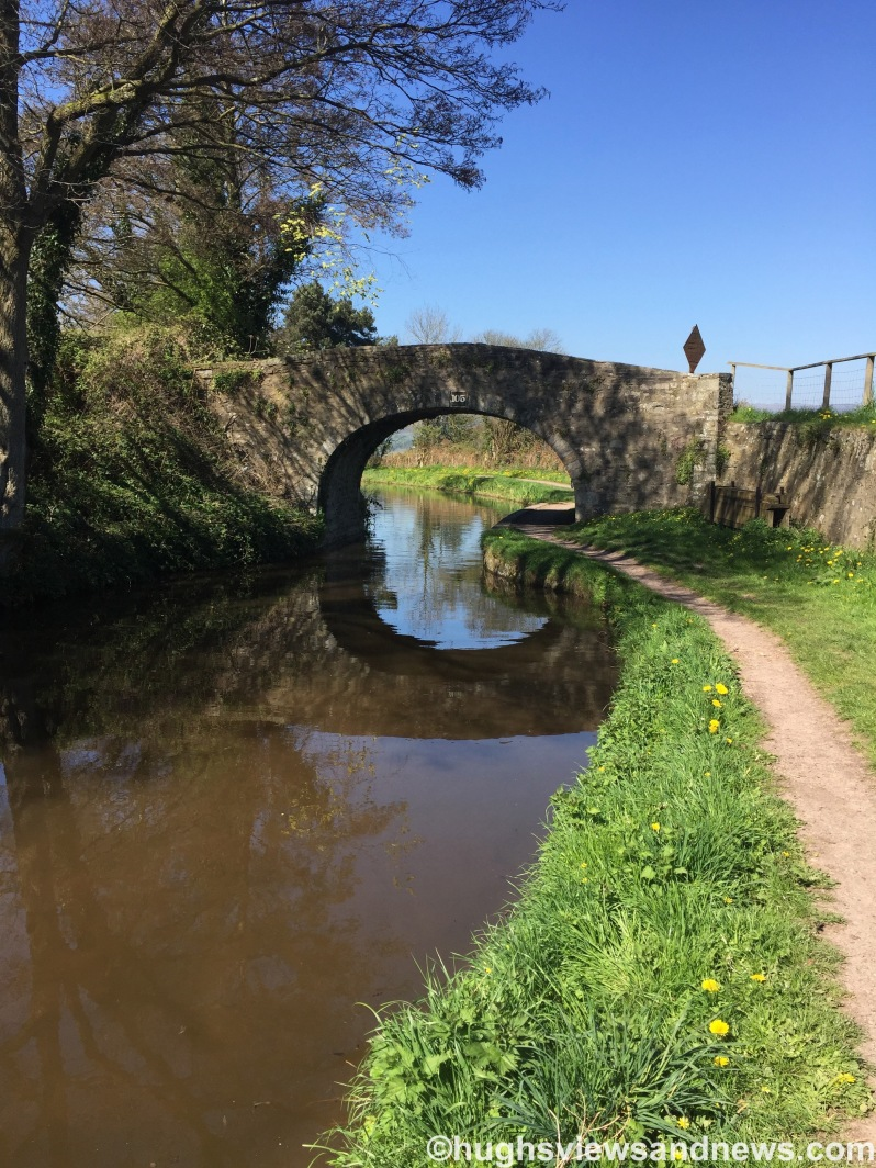 Bridge over the Brecon Beacons to Newport canal