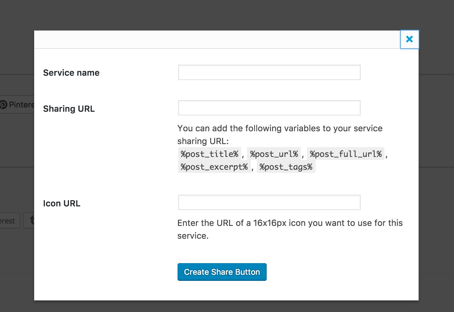 Adding a new Flipboard sharing button on a WordPress blog