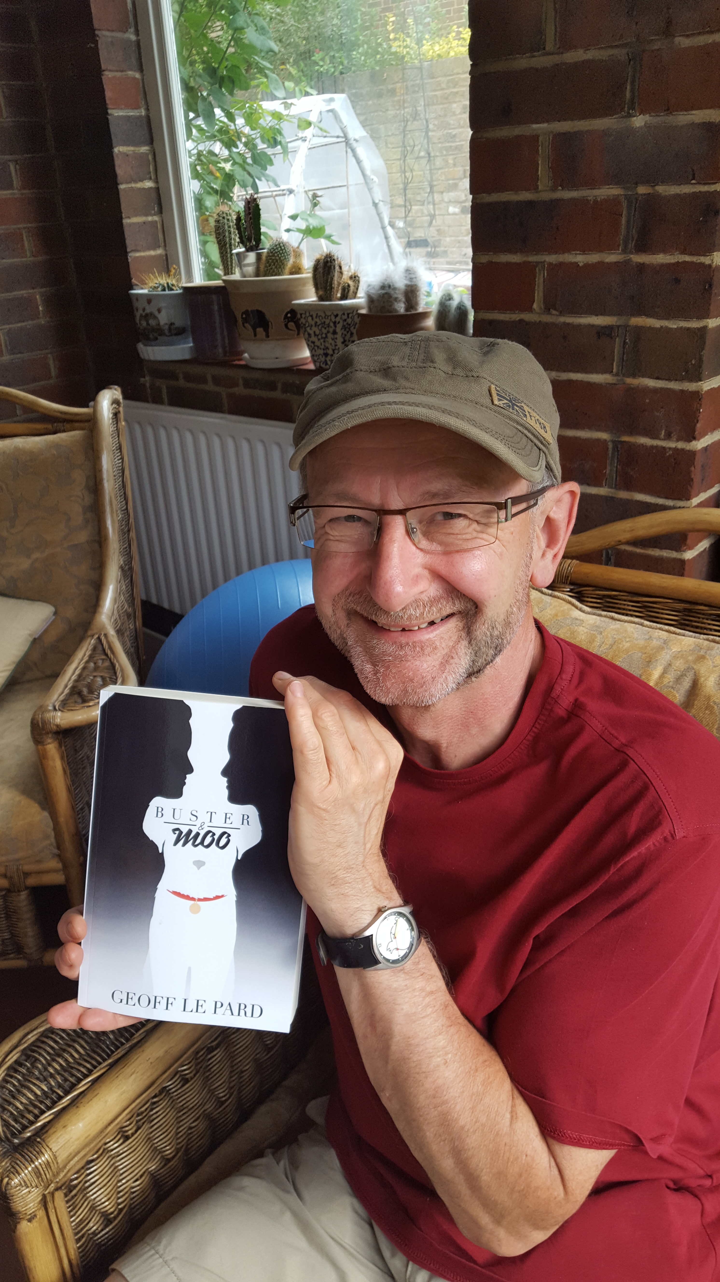 Book Of The Month – Buster & Moo – By Geoff Le Pard @geofflepard