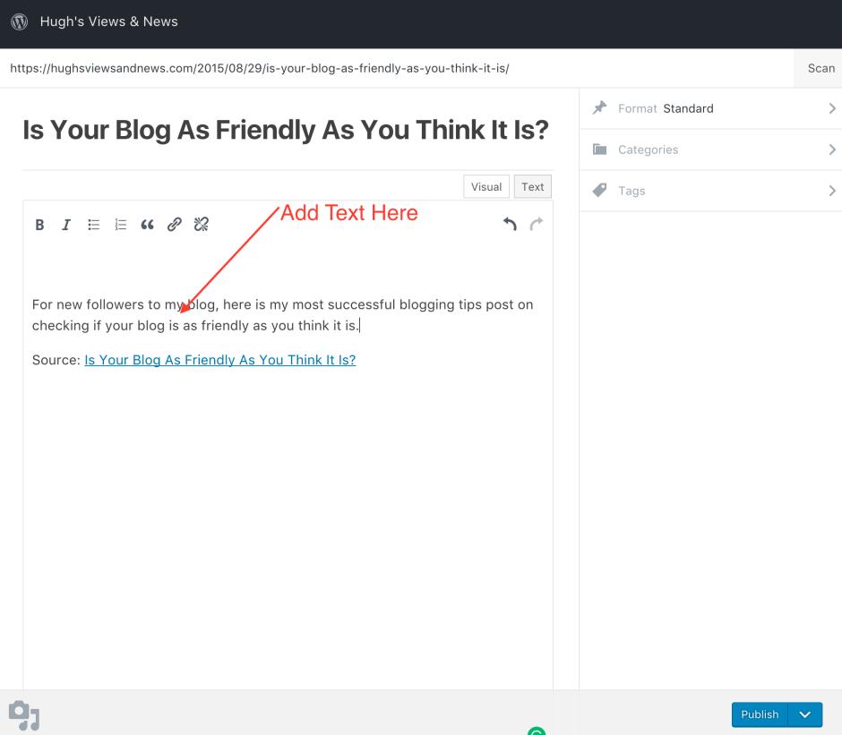 #bloggingtips #blogging #WordPress