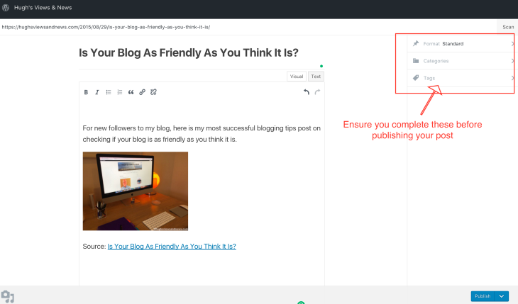 #bloggingtips #blogging #WordPress