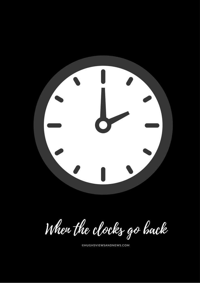 When The Clocks Go Back