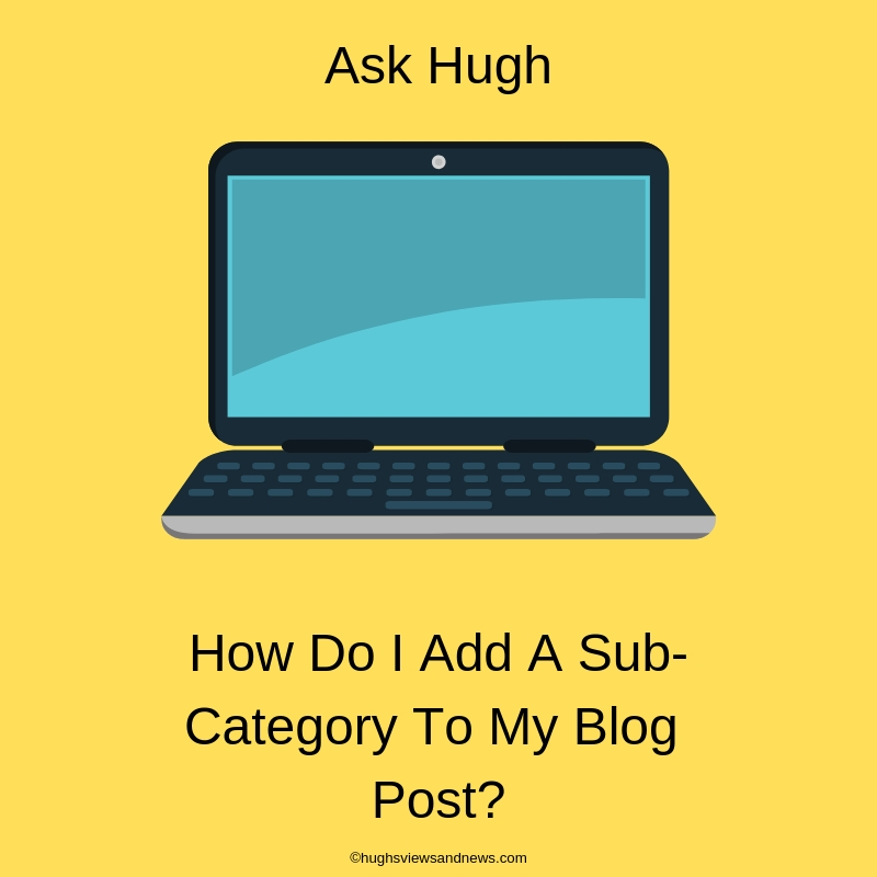 How To Add A Sub-Category To Your WordPress Blog Post