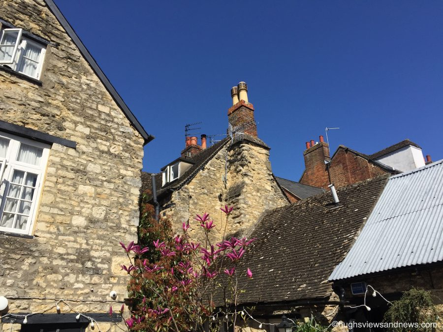Chimney Pots of the Cotswolds #WordlessWednesday