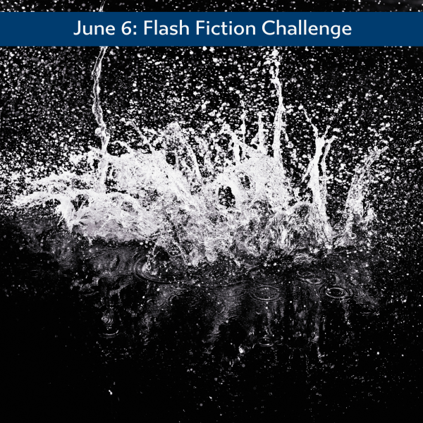Front Page Splash #flashfiction