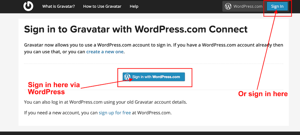 #blogging #bloggingtips #Gravatar #WordPress