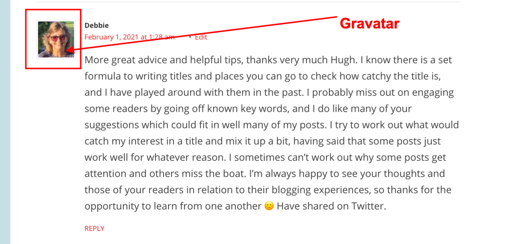 #blogging #bloggingtips #WordPress #gravatar