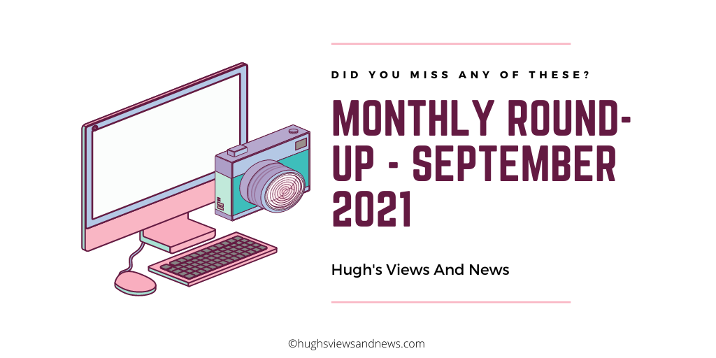 Banner for the blog post-Monthly Round-Up - September 2021